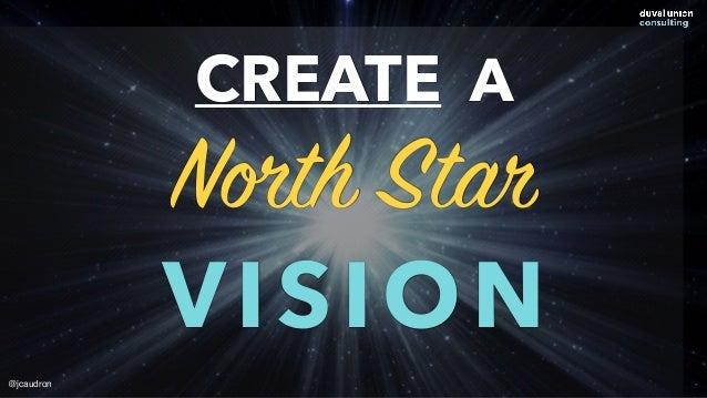 CREATE A North Star VISION @jcaudron