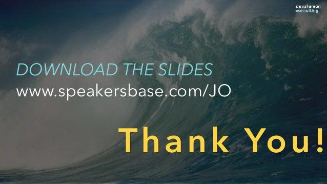 Thank You! DOWNLOAD THE SLIDES www.speakersbase.com/JO