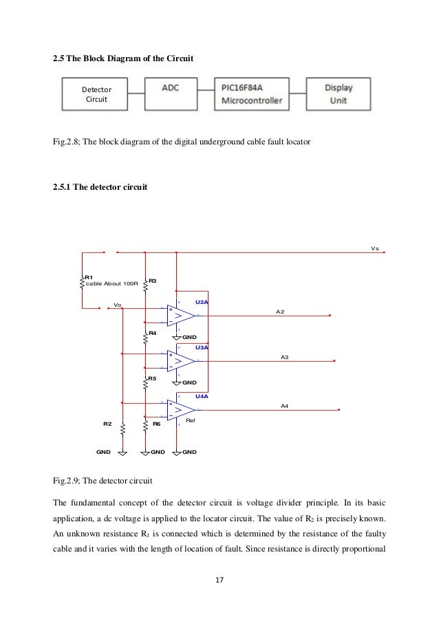Underground Wire Fault Locator : Underground wire break locator diagram wiring