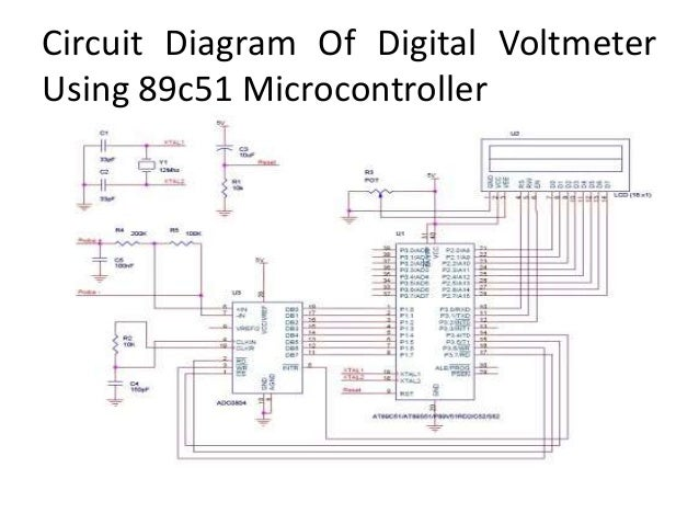 digital voltmeter using 8051 microprocessor How to make a digital speedometer using microcontroller  odometer for my motorcycle using 8051 or similar  a digital voltmeter using no .