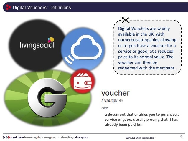 Digital vouchers sample extract – Sample Vouchers