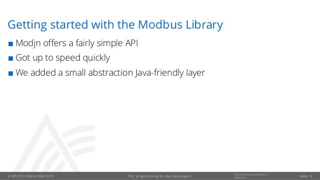 Java Modbus Library
