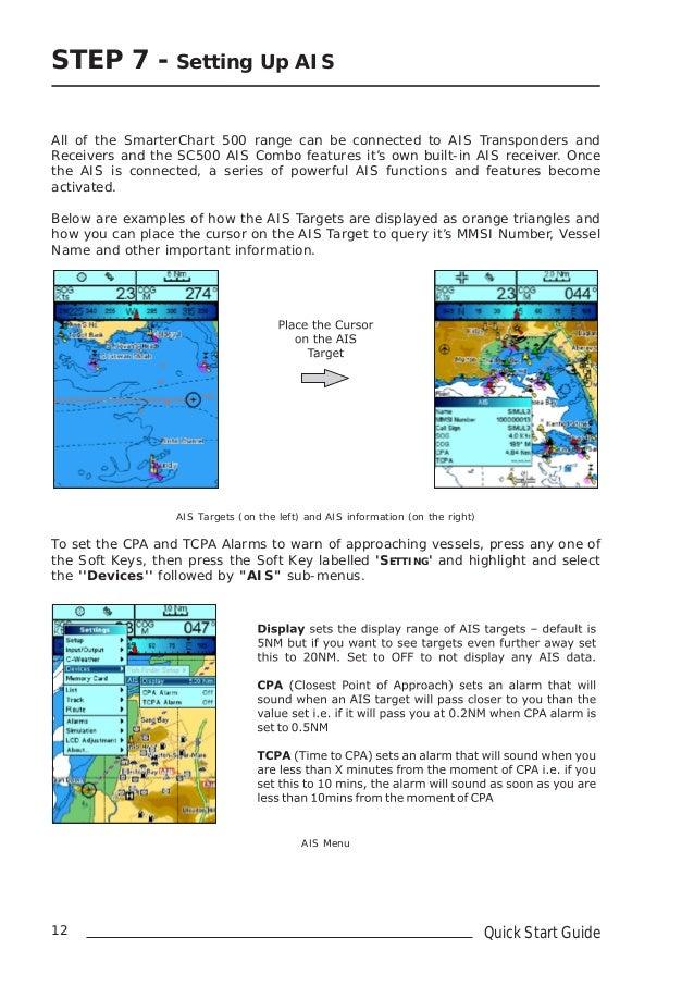 Digital yacht chartplotter sc500 quick start guide