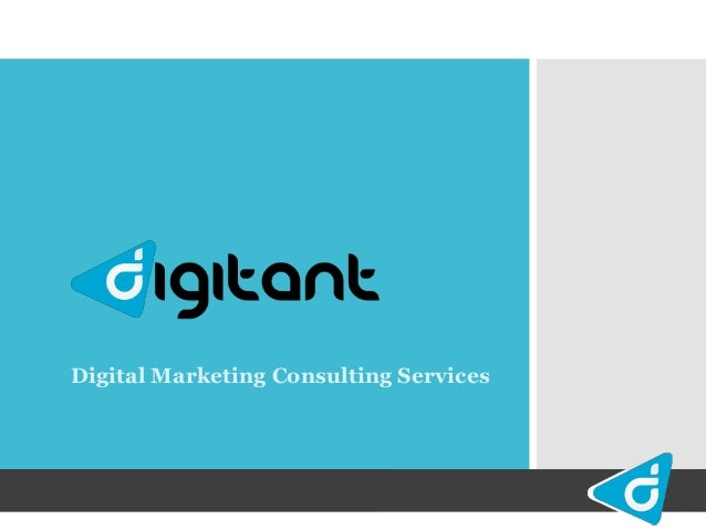 Digital Marketing Consulting Services