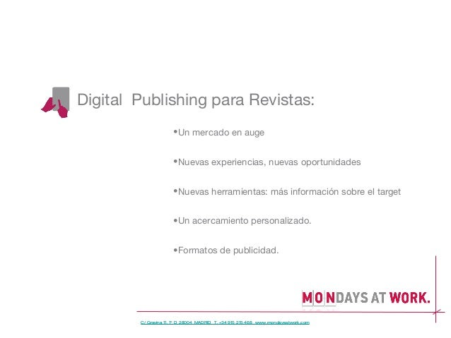 Digita publishing. Un mercado en auge. Slide 2