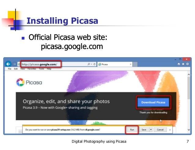 Digitial Photography using Picasa slides