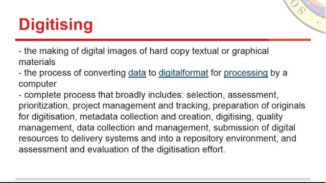 """È I la] I - _ , -'_'_ 1 'ho.   à"" I ""V f"" .  G .  J.  . . , V 'è 'î'  - the making of digital images of hard copy textual..."