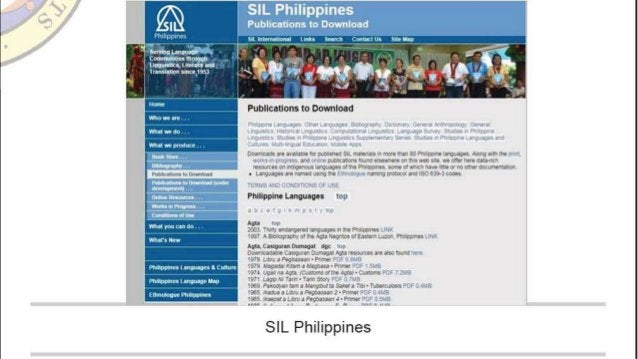 SIL Philippines Publicnfions to Download  su mu Unix-tu!  mkx x4 mn mm. » m xm un  serviva nmwar ' Iawmnlmrmouoh lnuuunhcx ...