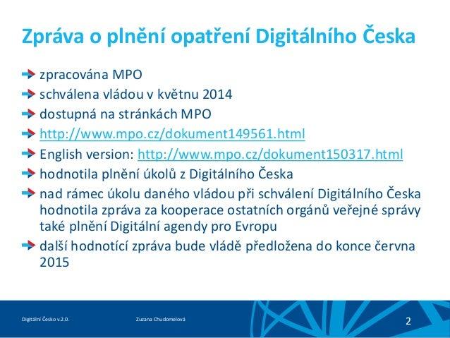 Digitální česko v 2.0 Slide 2