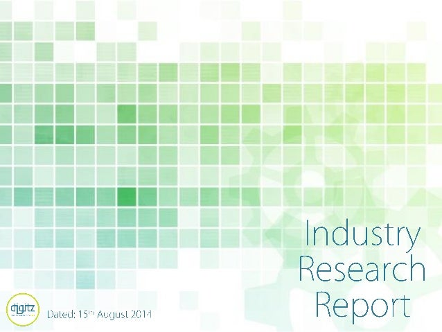 Digitz- Digital Trends Report: August 2014