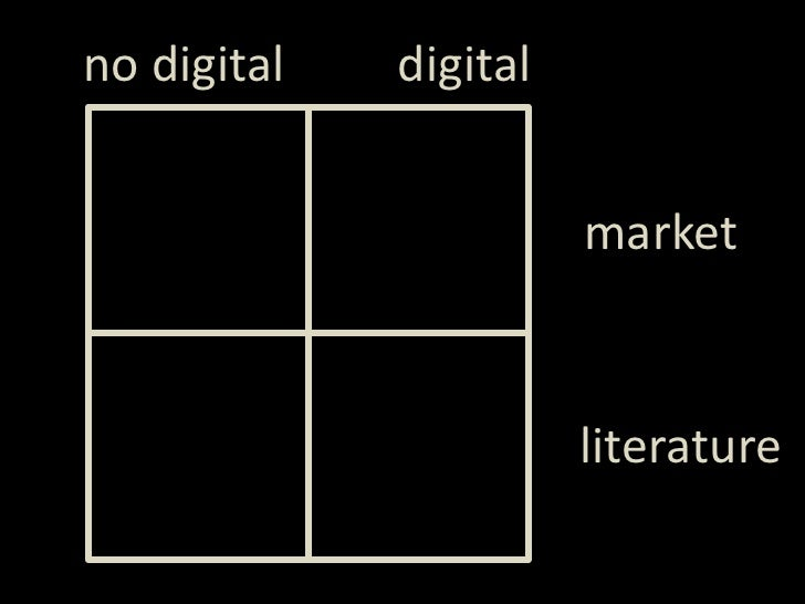 digital<br />notdigital<br />market<br />literature<br />
