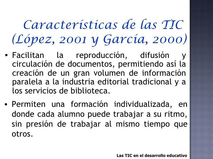 Las TIC en el Desarrollo Educativo Slide 2