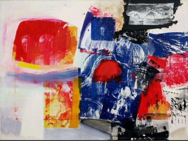 """Robert Rauschenberg• 1925 - 2008• American mixed-media  artist• Pop Art period• Created and coined  """"combines""""            ..."""