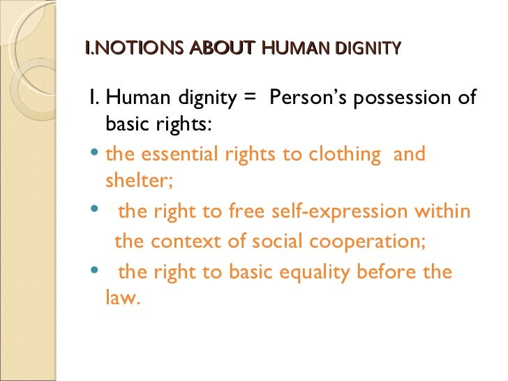 the dignity of a human person Cst 101 is a collaborative 7-part video series presented by the usccb and catholic relief services on catholic social teaching learn from bishop robert.