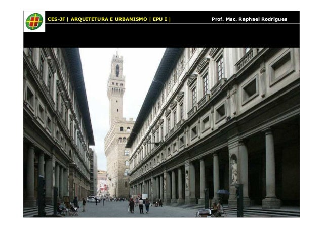 CES-JF | ARQUITETURA E URBANISMO | EPU I | Prof. Msc. Raphael Rodrigues