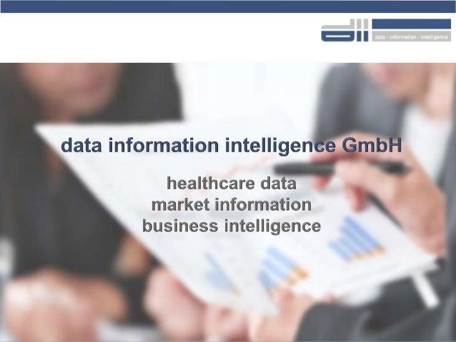 2015 ‹#›© data information intelligence GmbH