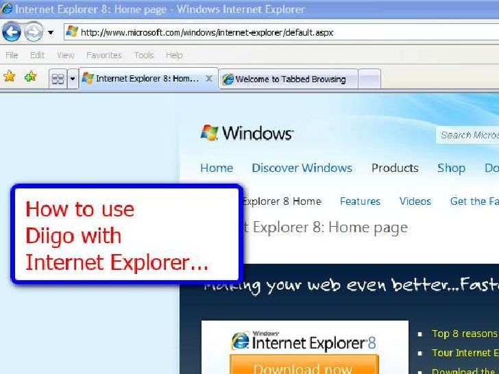 Diigo Howto With Ie Or Other Browser