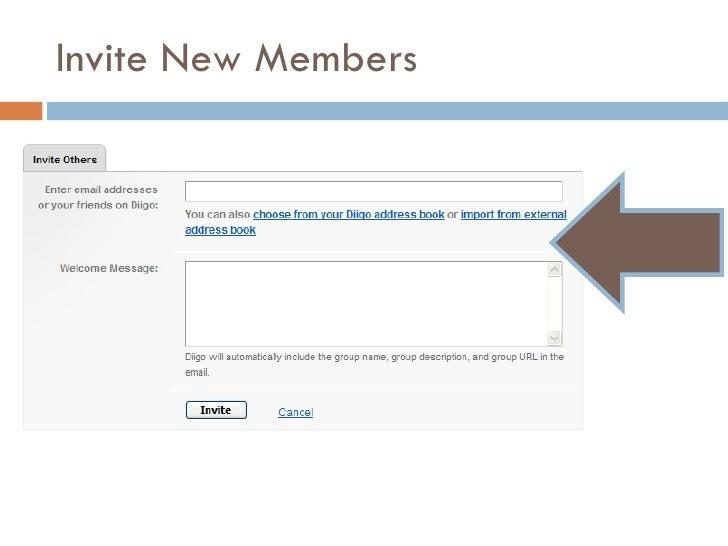 Invite New Members