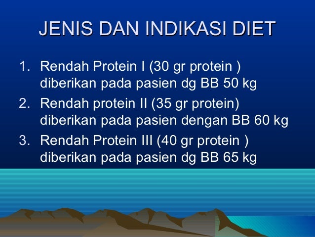 18 Makanan Rendah Protein untuk Penderita Gagal Ginjal