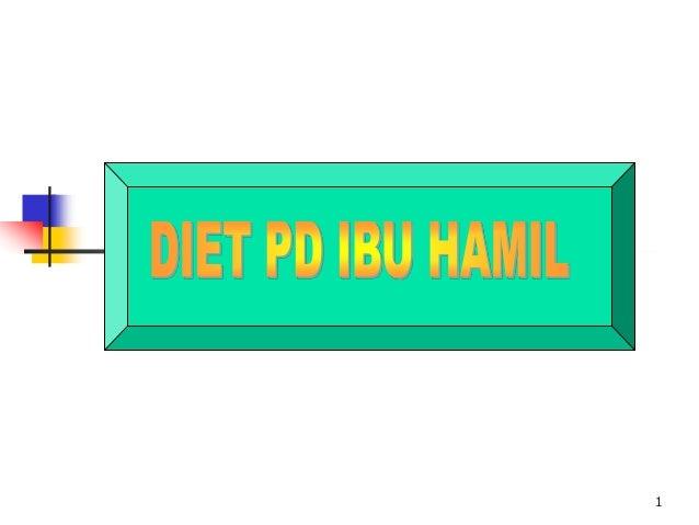 Diet wanita hamil Slide 1