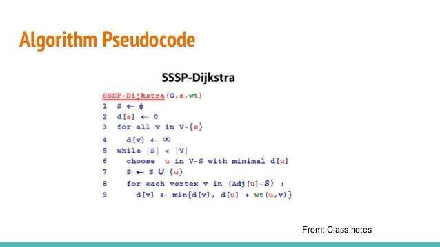 Dijkstra algorithm a dynammic programming approach