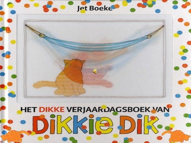 Magnifiek Dikkie dik taart, prentenboek #TP67
