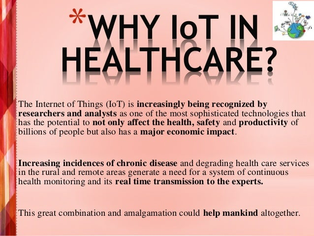 Implementation of IoT in Healthcare Domain