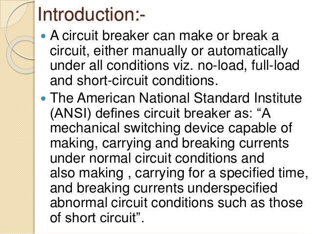 Digital Testing Of High Voltage Circuit Breaker