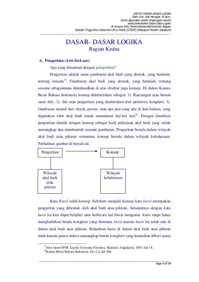 Diktat dasar-dasar-logika