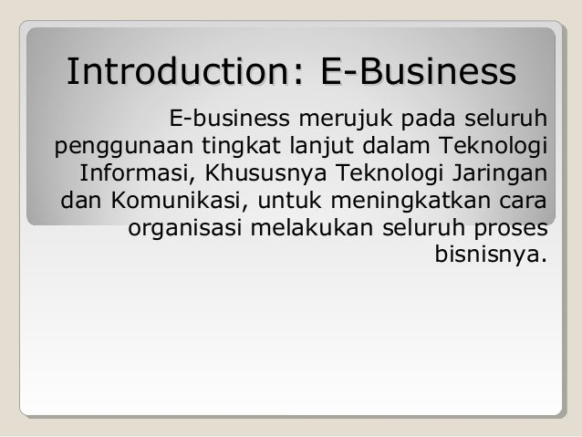 How to Write eBusiness Plans