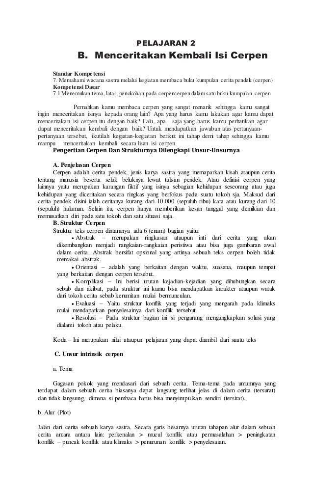 Diktat Bahasa Indonesia Kelas Ix