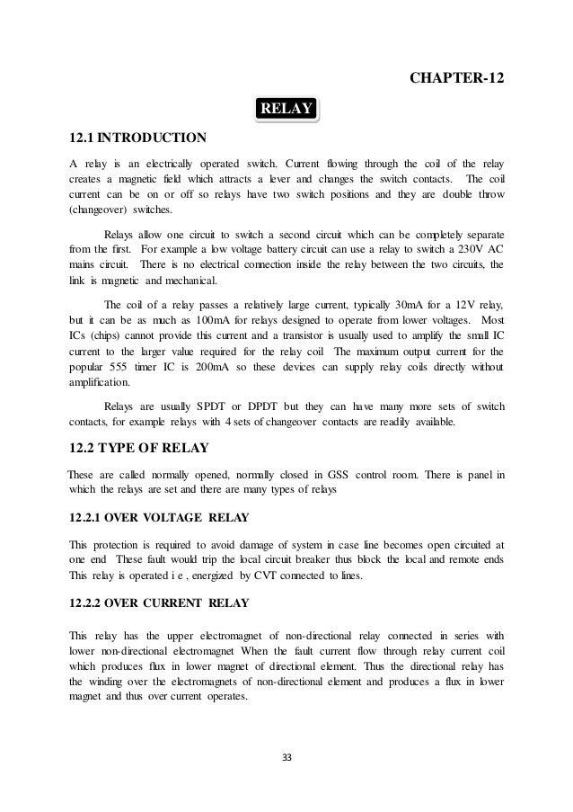 Uppcl Summer Training Report Pdf