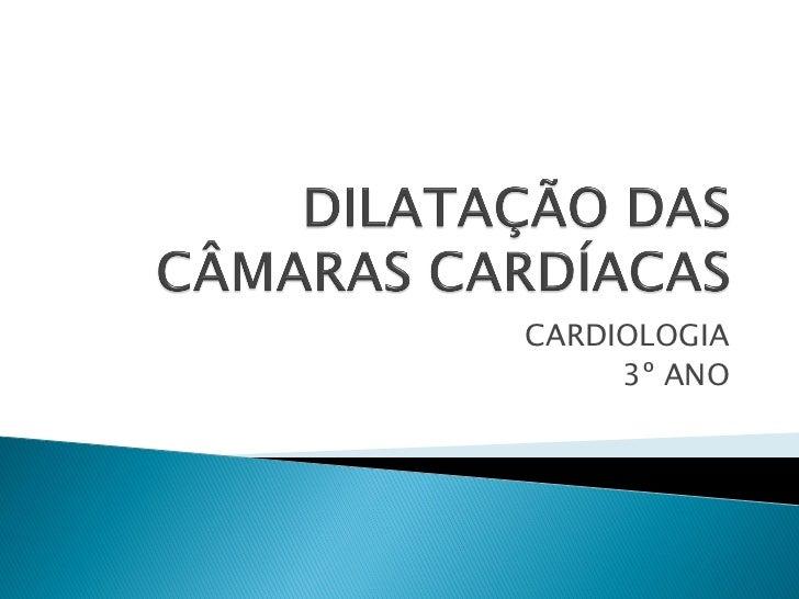 CARDIOLOGIA     3º ANO