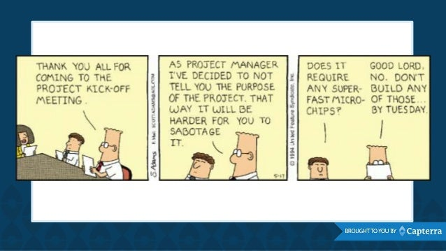 dilbert project management Pm - from dilbert to pointy-haired boss pm - from dilbert to pointy-haired boss  my reading of the op, brought me to think of direct project management,.
