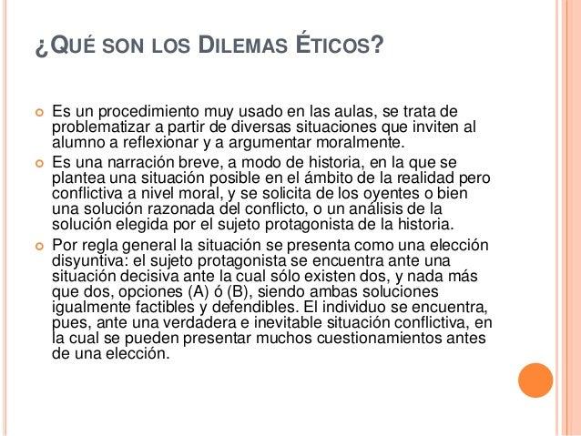 Dilemas eticos Slide 2