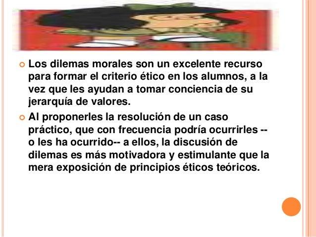 Dilemas eticos Slide 3