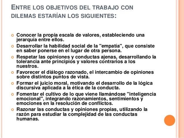 Dilemas eticos - Esquema caso practico trabajo social ...