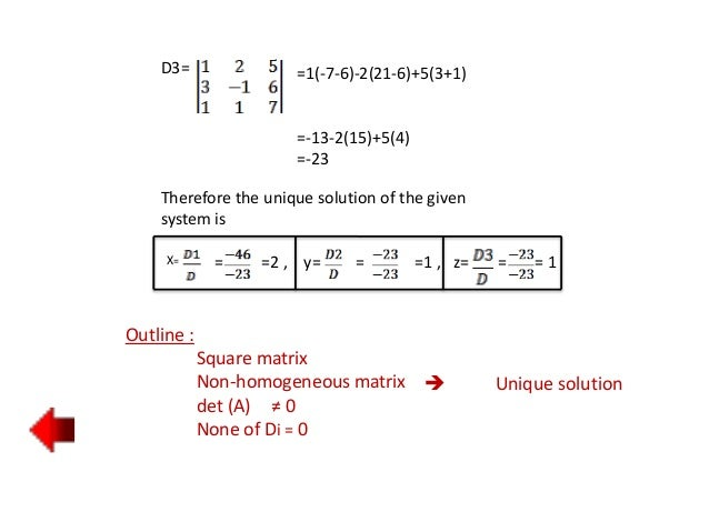 homogeneous system of linear equations pdf