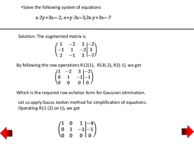 Write a system of equations that has no solution infinite
