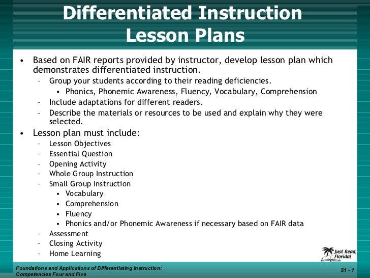 Di Lesson Plans