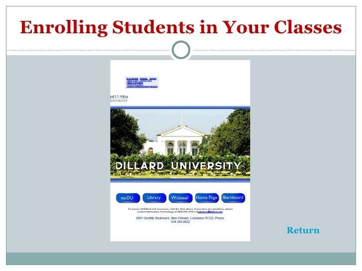 Home | Portal - Dillard University
