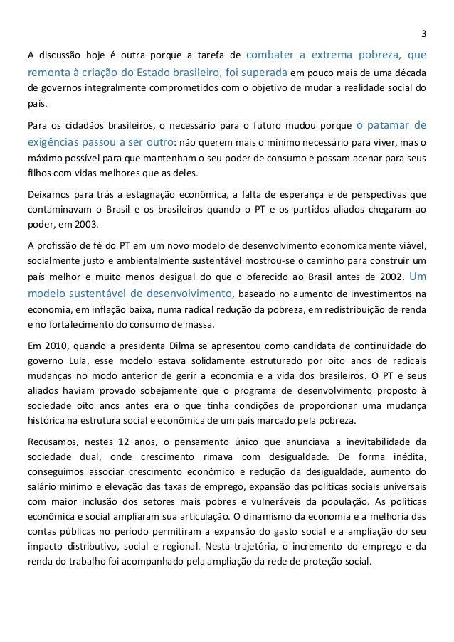 Programa de governo de Dilma Rousseff (PT) Slide 3