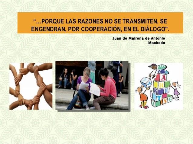 Diálogos de saberes en andes. septiembre 13 de 2012