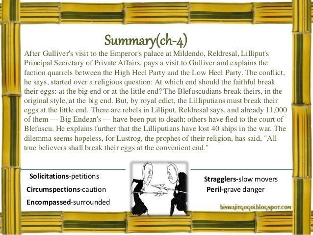 Pdf summary gullivers travel