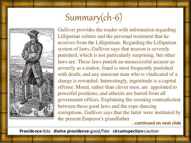 Gulliver S Travel Part  Chapter