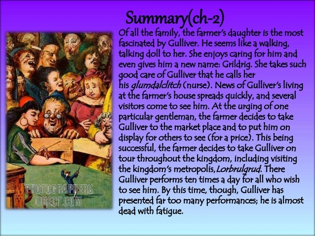 gullivers travels 4 essay View gulliver's travels research papers on academiaedu for free.