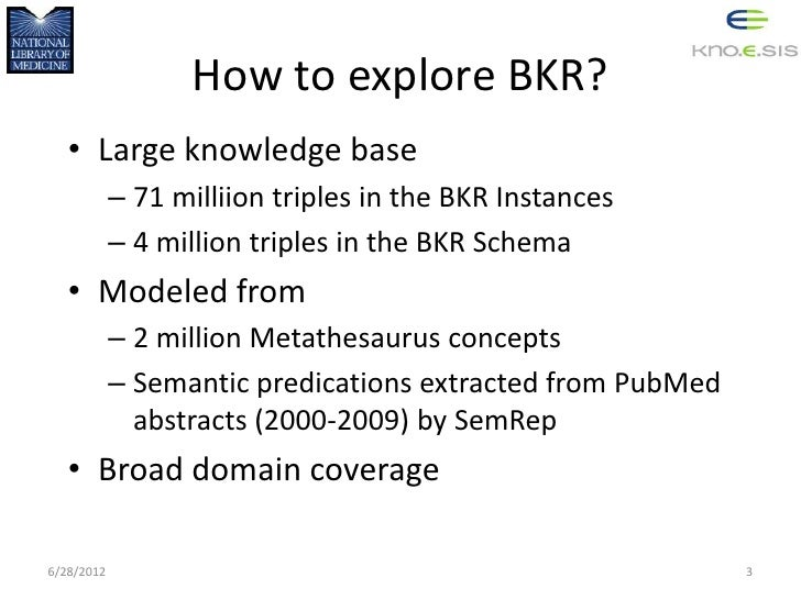 iExplore: A provenance-based application for exploring biomedical knowledge Slide 3