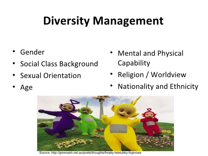 diversity management is the key to Learn what elements to incorporate into a new or pre-existing diversity the top 5 elements your diversity program should an organization's management.