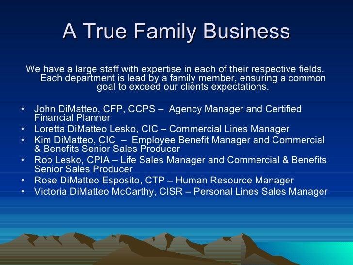 DiMatteo Insurance Service Summary Jd 7 18 06 Slide 2