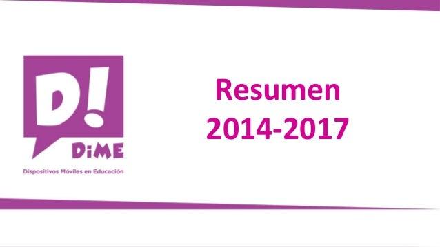 Resumen 2014-2017